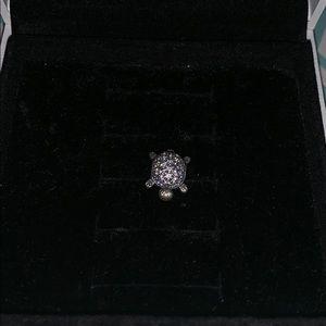Pandora sterling silver turtle charm